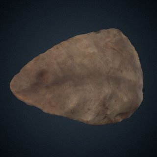 3d model of Handaxe from Dordogne, France