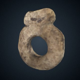 3d model of Ivory Carved Ring from Dolni Vestonice, Czech Republic