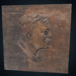 3d model of Theodore Roosevelt
