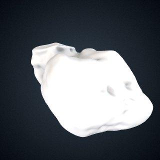 3d model of Gorilla gorilla gorilla: Cuneiform1 Left