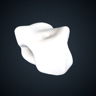 3d model of Pongo abelii: Cuboid Right