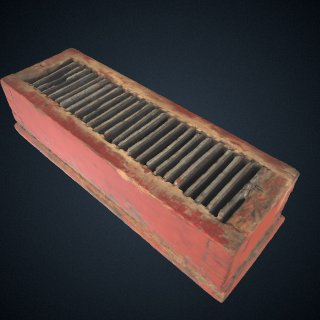3d model of Henry trough battery