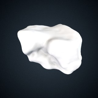 3d model of Pan troglodytes verus: Cuboid Right