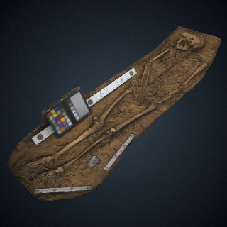 3d model of Unknown burial