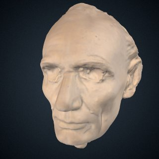 3d model of Abraham Lincoln