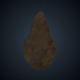 3d model of Handaxe from India