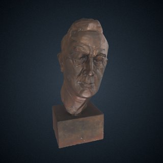 3d model of Franklin D. Roosevelt