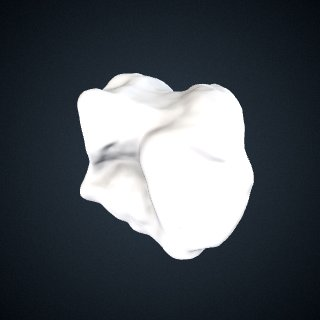 3d model of Gorilla gorilla gorilla: Cuboid Right