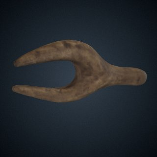 3d model of Female Lower Torso, Cast