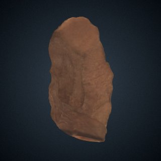 3d model of Handaxe from Bose, China