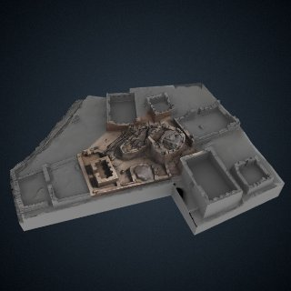 3d model of Pisac Intihuatana