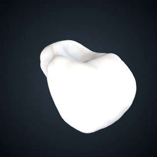 3d model of Pongo abelii: Pisiform Right