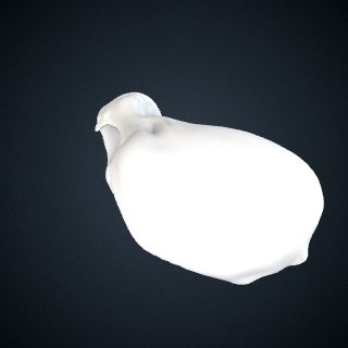3d model of Pongo abelii: Scaphoid Left