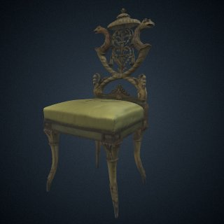 3d model of Side Chair