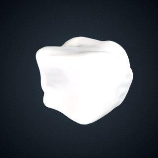 3d model of Pongo abelii: Cuboid Left