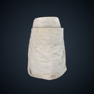 3d model of apron