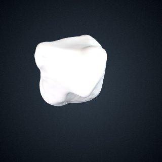 3d model of Gorilla beringei beringei: Trapezoid Right