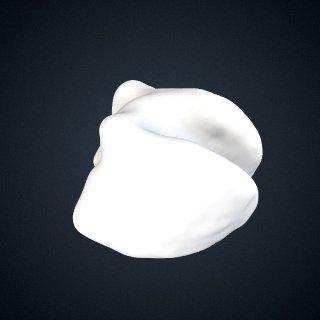 3d model of Pongo abelii: Cuboid Right