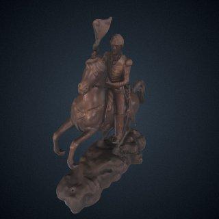 3d model of Andrew Jackson
