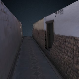 3d model of Qorikancha Wall Segment