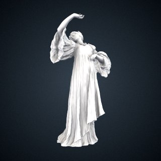 3d model of Figure of a Dancer