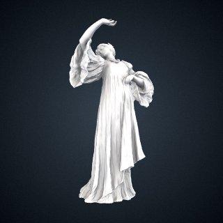 3d model of Figure of a Dancer