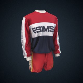 3d model of Sims Team Jersey worn by Cindy Whitehead