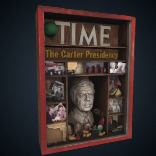 3d model of Jimmy Carter