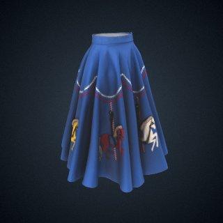 3d model of skirt
