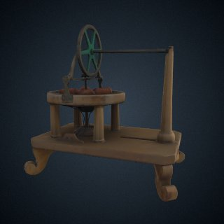 3d model of Davenport electric motor, patent #132
