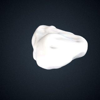 3d model of Pan troglodytes: Navicular Right