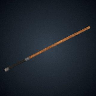 3d model of Slugger's stickball bat