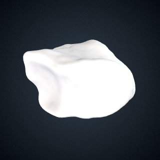 3d model of Pan troglodytes troglodytes: Cuboid Left