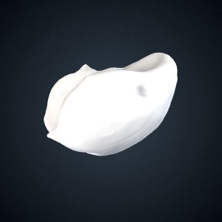3d model of Pongo abelii: Lunate Right