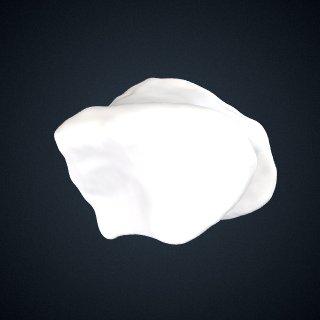 3d model of Pongo pygmaeus: Cuboid Left