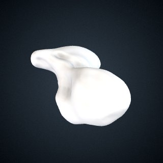 3d model of Pongo abelii: Scaphoid Right