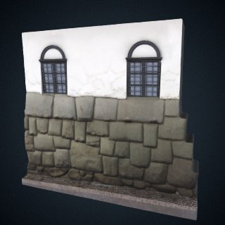 3d model of Hatunrumiyoc