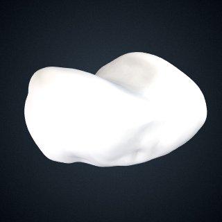 3d model of Pongo abelii: Pisiform Right