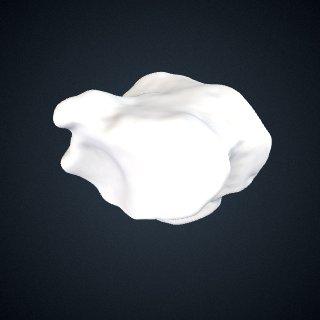 3d model of Pan troglodytes: Cuboid Left