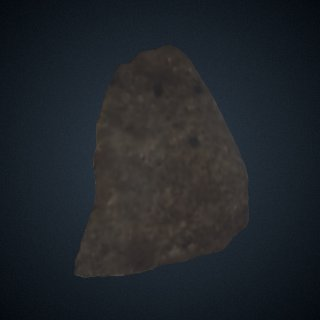 3d model of Stone Flake from Lokalalei, Kenya