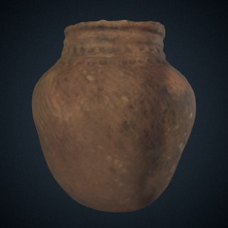 3d model of Pottery Vessel (Horinouchi Type)