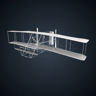 3d model of 1903 Wright Flyer