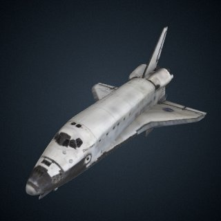 3d model of Orbiter, Space Shuttle, OV-103, Discovery