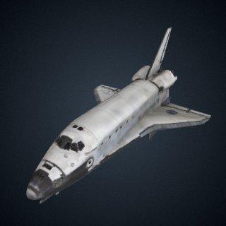 3d model of Orbiter, Space Shuttle, OV-103, Discovery