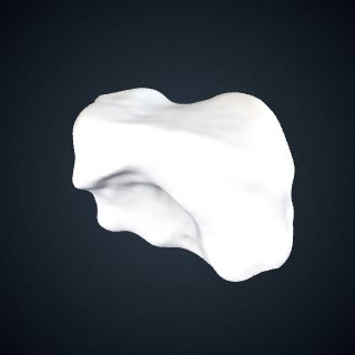 3d model of Pan troglodytes troglodytes: Cuboid Right