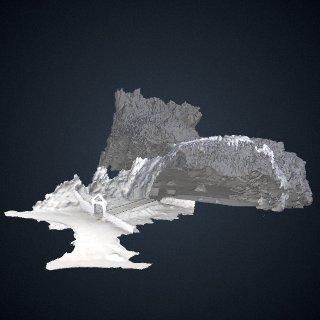 3d model of Liang Bua