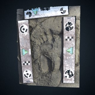 3d model of Engare Sero R1 Footprint