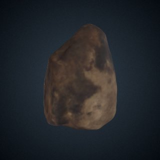 3d model of Hammerstone from Lokalalei, Kenya