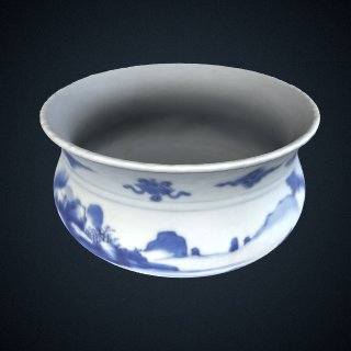3d model of Incense burner
