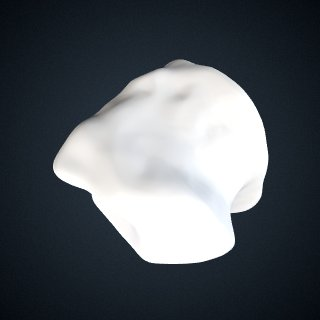 3d model of Pongo pygmaeus: Cuboid Left
